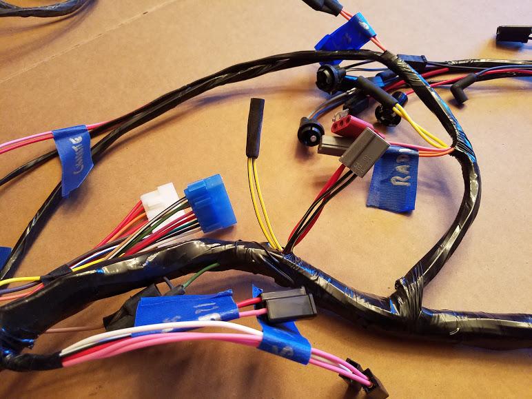70 Challenger Dash Wire Harness Experts Dodge Challenger Forum