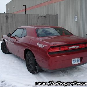 "2009 Challenger SXT - ""Chilly"" Challey"