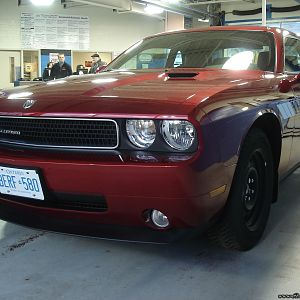 Showroom shine - 2009 Challenger SXT decked for winter