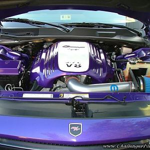 My Plum Crazy Engine Bay