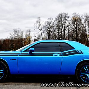 R/T Classic, Seriously blue.