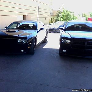 Alice Cooper's 2014 Shaker, and my Charger R/T