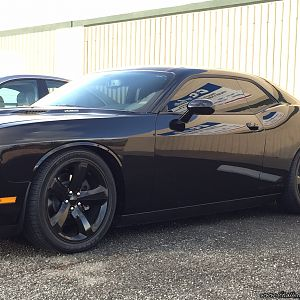 Challenger RT with ST Coilovers